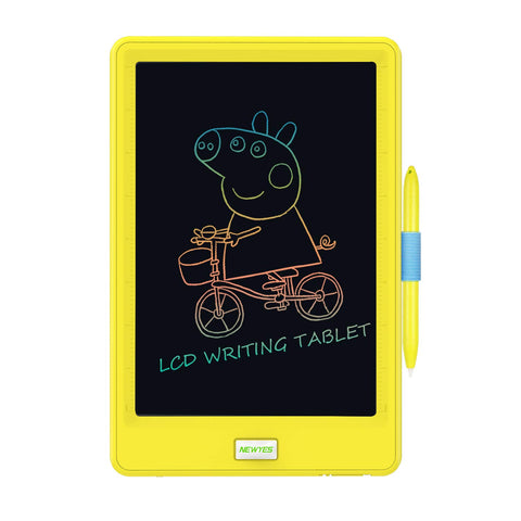 LCD Writing Tablet 8.5 inch Doodle Writing Board erasable and Reusable Drawing pad Gifts for Kids Adults and Students with Lock Button Blue Color