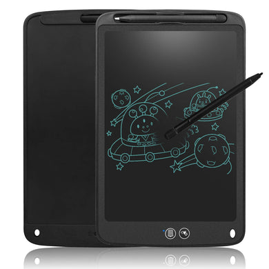 Partial Erase Writing Board Upgrade 11 Inches LCD Tablet with Lock Function Business Memo Pad Magnetic Fridge Notice Daily Planner Doodle Toy for Kids Black