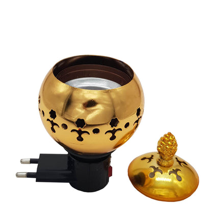Exclusive Electrical Bakhoor Burner - Golden