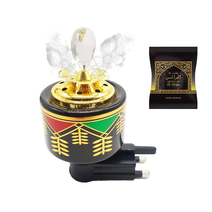 Mini Direct Plugin Electrical Bakhoor Burner with 40gm Paste