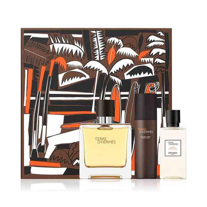 Hermes Terre D'Hermes Pure Perfume Gift Set For Men