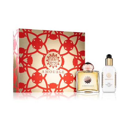 Amouage Dia Woman Gift Set - Dia Eau de Parfum Spray 100ml + Dia Body Lotion 100ml