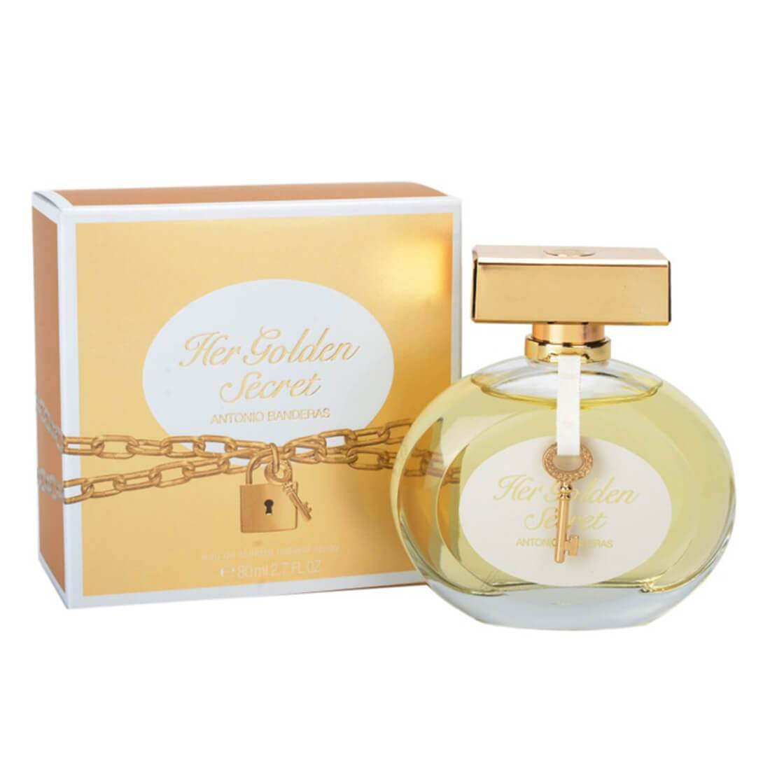 Antonio Banderas Golden Secret For Women Perfume EDT - 80ml