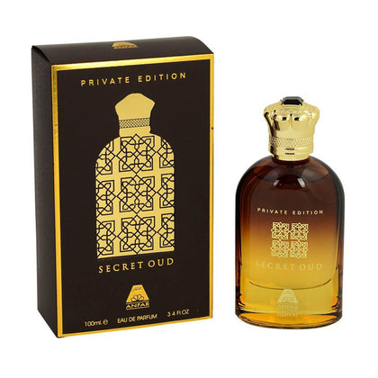 Anfar Secret Oud Private Edition Eau de Perfum For Men And Women - 100ml