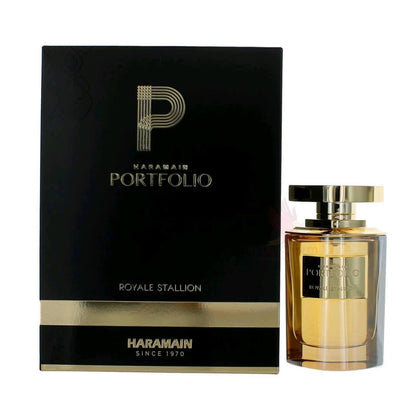 Al Haramain Portfolio Royale Stallion Eau De Perfume Spray - 75ml