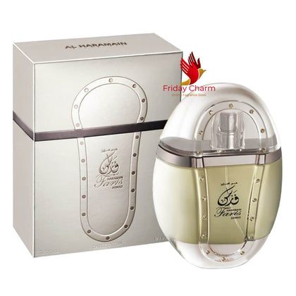 Al Haramain Faris Aswad Perfume Spray - 70ml