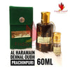 Al Haramain Dehnal Oud Prachinpuri Attar - 60ml
