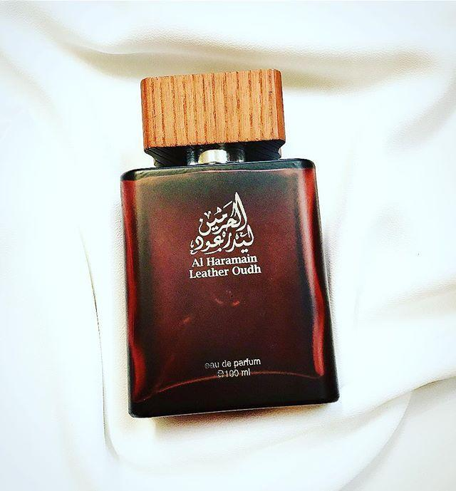 Al Haramain Leather Oudh Spray - 100 ml