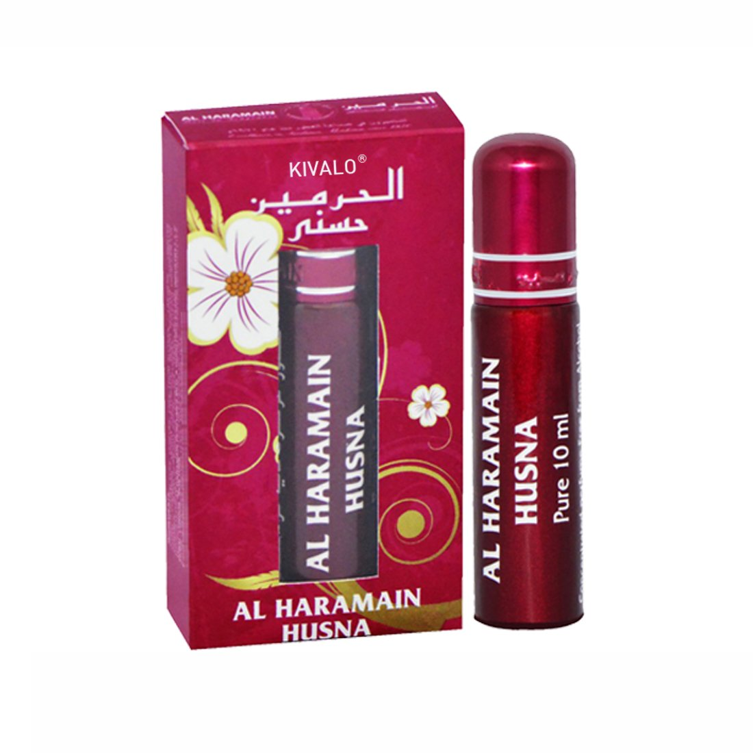 Al Haramain Husna Fragrance Pure Original Roll On Attar - 10 ml