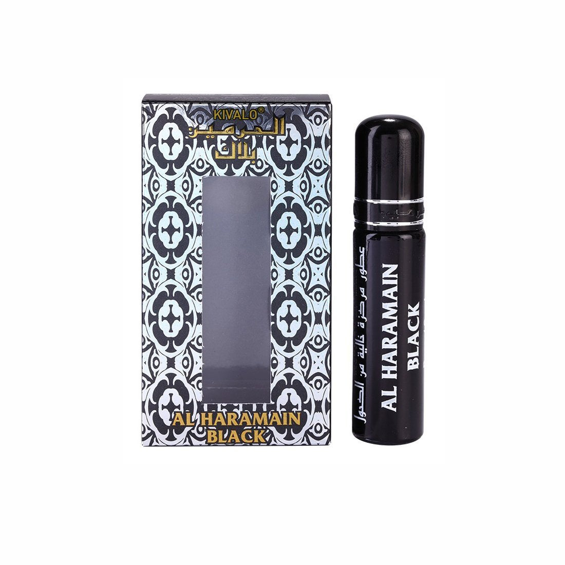Al Haramain Black Roll On Attar - 10ml