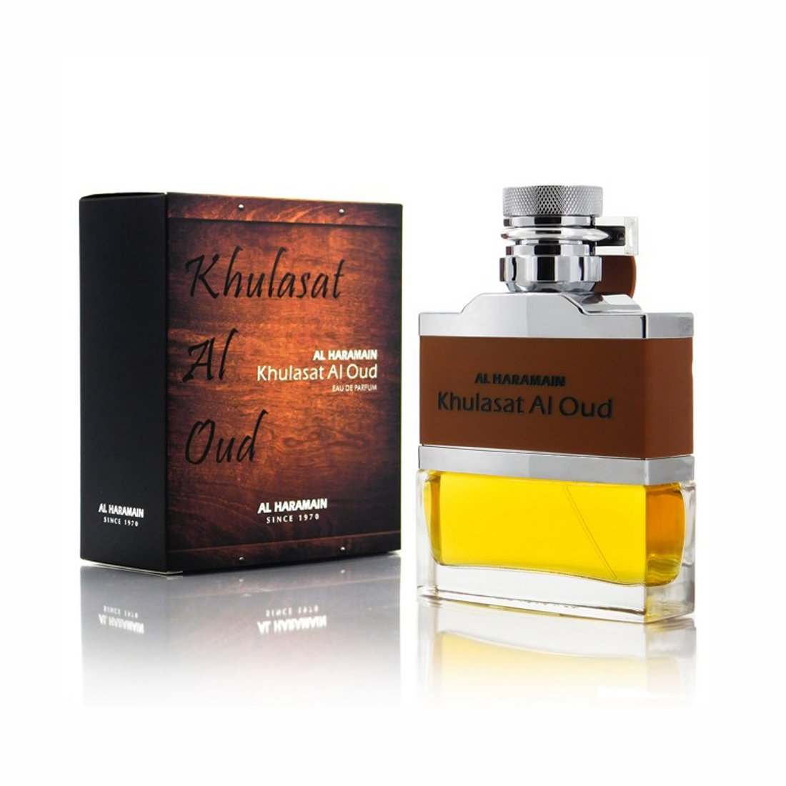 Al Haramain Khulasat Al Oud Perfume Spray - 100 ml