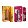 Al Haramain Gold & Husna Fragrance Pure Original Roll On Attar Combo Pack of 2 x 10 ml
