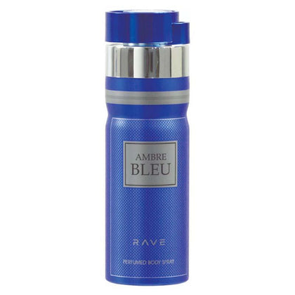 Rave Deodorant 200ml Pack of  3(AMBRE BLEU,LXURE WOMAN,OUD NUIT)