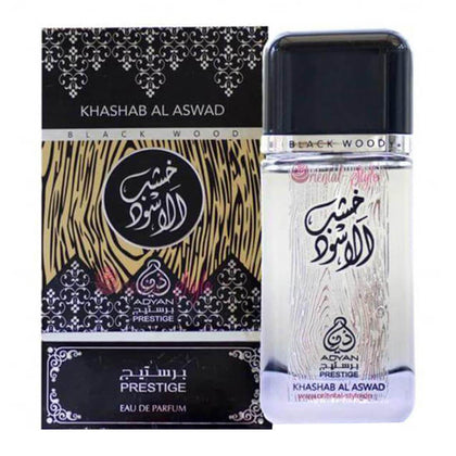 Adyan Khashab Al Aswad Black Wood Perfume Spray - 100ml