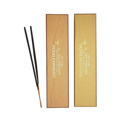 Combodi Oudh and Shamama Oudh Handmade Masala Agarbatti Incense Sticks - 50g