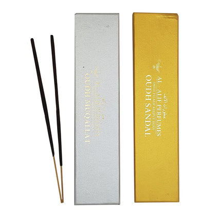 Sandal Oudh and Muqallat Oudh Handmade Masala Agarbatti Incense Sticks - 50g