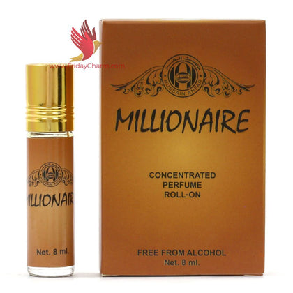Anfar Millionaire, Desirable & Open UP Roll on Attar 8ml Pack Of 3
