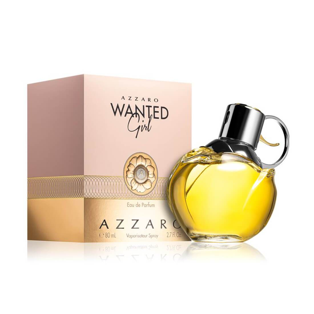 Azzaro Wanted Girl Eau De Perfume For Women - 80ml