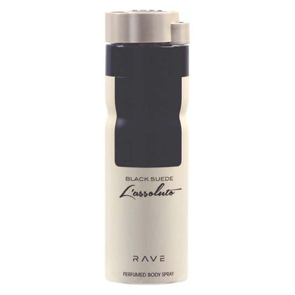 Rave Deodorant 200ml Pack of   3(BLACK SUEDE L'ASSOLUTO,LUXURE MAN,LXURE WOMAN)