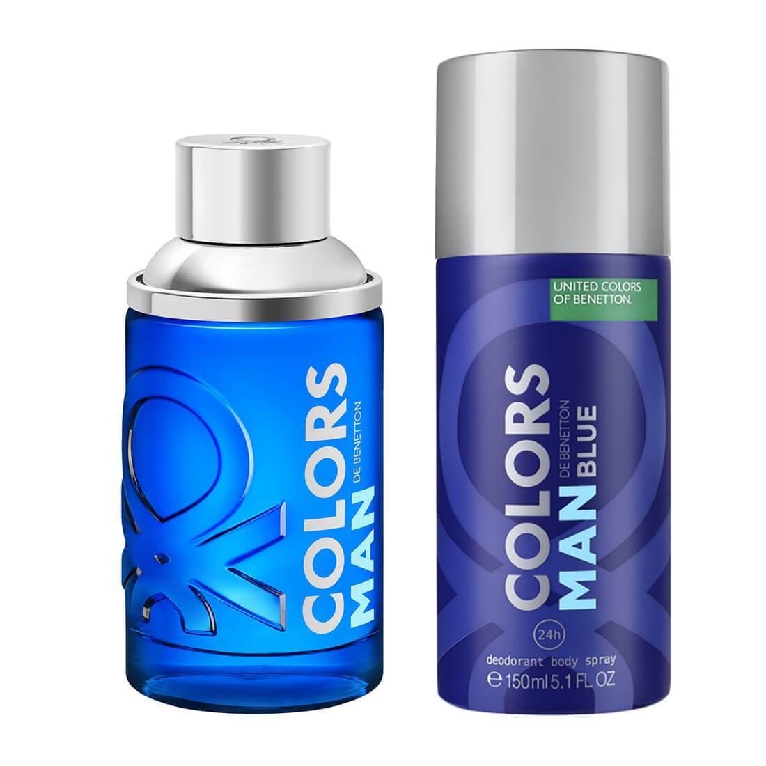 United Colors of Benetton Blue Perfume Gift Set For Men
