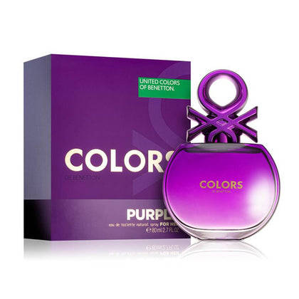 United Colors of Benetton Colors De Benetton Woman Purple Eau De Toilette For Women 80ml