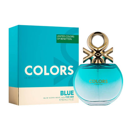 United Colors of Benetton Colors De Benetton Woman Blue Eau De Toilette For Women 80ml