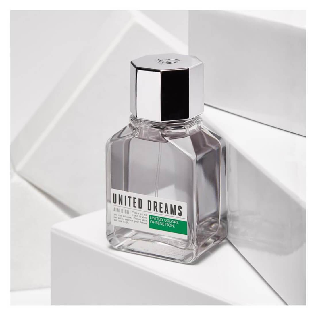 United Colors of Benetton United Dreams Aim High Eau De Toilette For Men 100ml