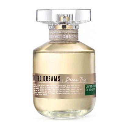 United Colors of Benetton United Dreams Dream Big Eau De Toilette For Women 80ml