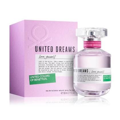 United Colors of Benetton United Dreams Love Yourself Eau De Toilette For Women 80ml
