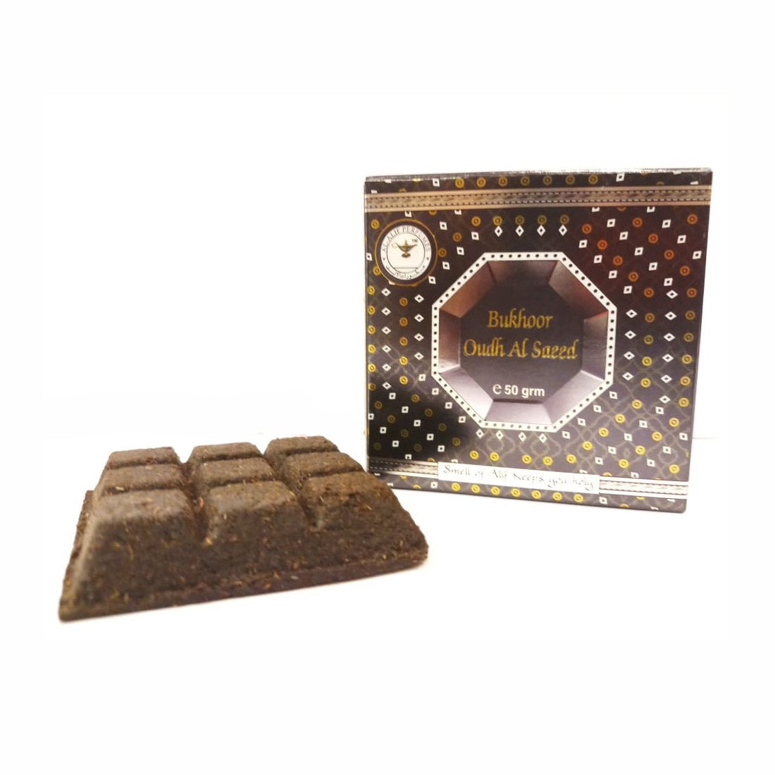 Alif Bukhoor Oudh Al Firdous & Al Saeed Incense Home Fragrance Combo Pack Of 2 x 50g