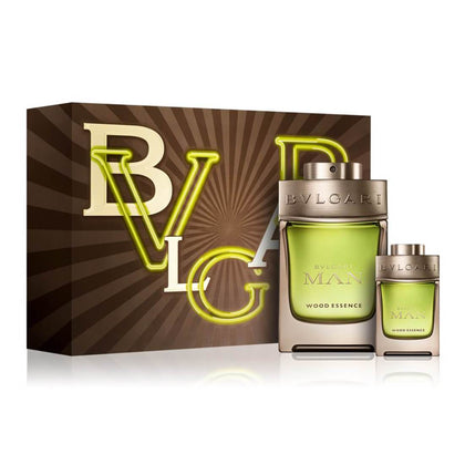 Bvlgari Man Wood Essence Gift Set
