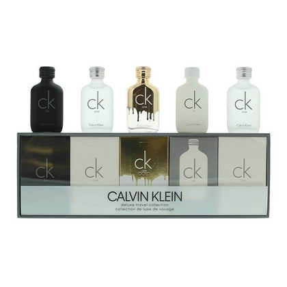 Calvin Klein Deluxe Travel Collection Gift Set 5pcs