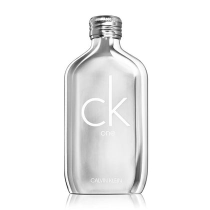 Calvin Klein CK One Platinum Edition Eau De Toilette For Unisex 200ml