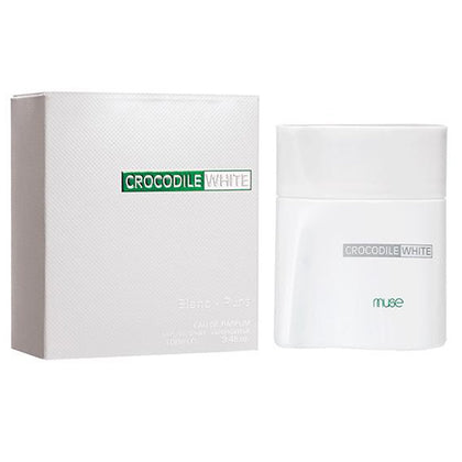Lamuse Crocodile White For Men Perfume Spray - 100ml