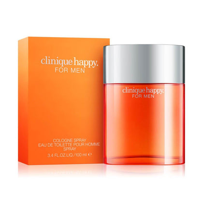 Clinique Happy For Men Cologne Spray Eau De Toilette Perfume - 100ml