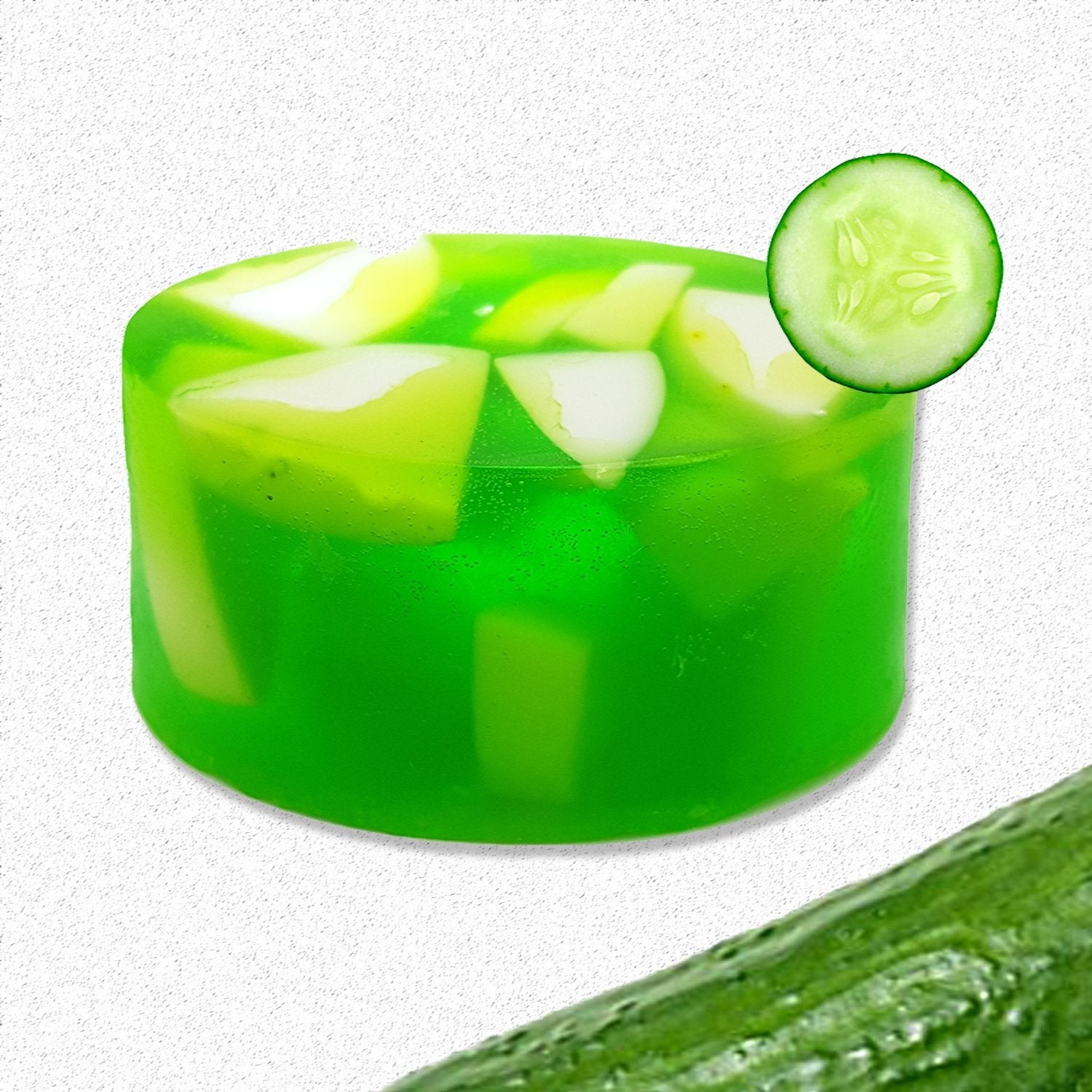 Organic CUCUMBER Cool Anti-Bacterial Summer Soap