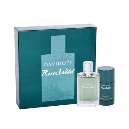 Davidoff Run Giftset Wild 100ml EDT + 70g Deo Stick