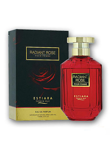 Estiara Radiant Rose Pure Original Eau De Perfume (Spray) - 100 ml - Sabkhareedo.com