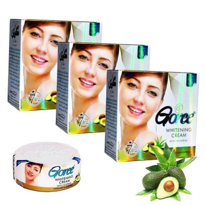 Goree Beauty Cream 100% Original ( With Lycopene & SPF 30 ) ( Pack Of 3)