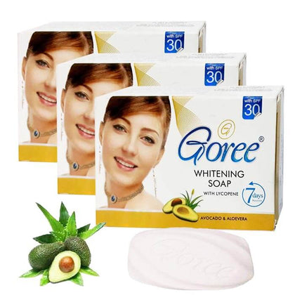 Goree Whitening Soap ( With Lycopene Features ) ( Pack Of 3 )