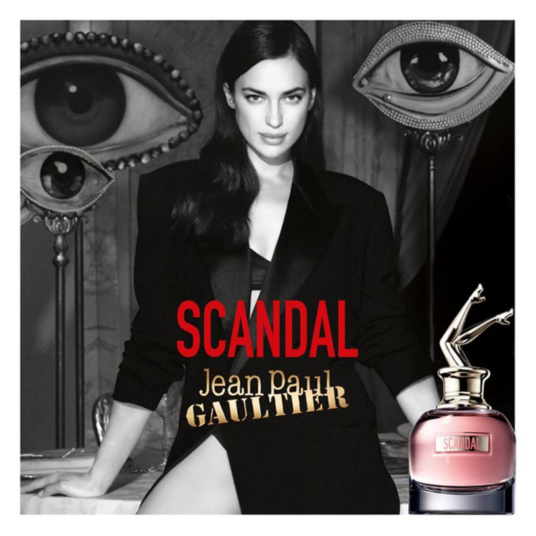 Jean Paul Gaultier Scandal Eau De Perfume For Women - 80ml