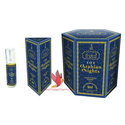 Khalis 101 Arabian Nights Fragrance Attar 6 ml Pack of 6