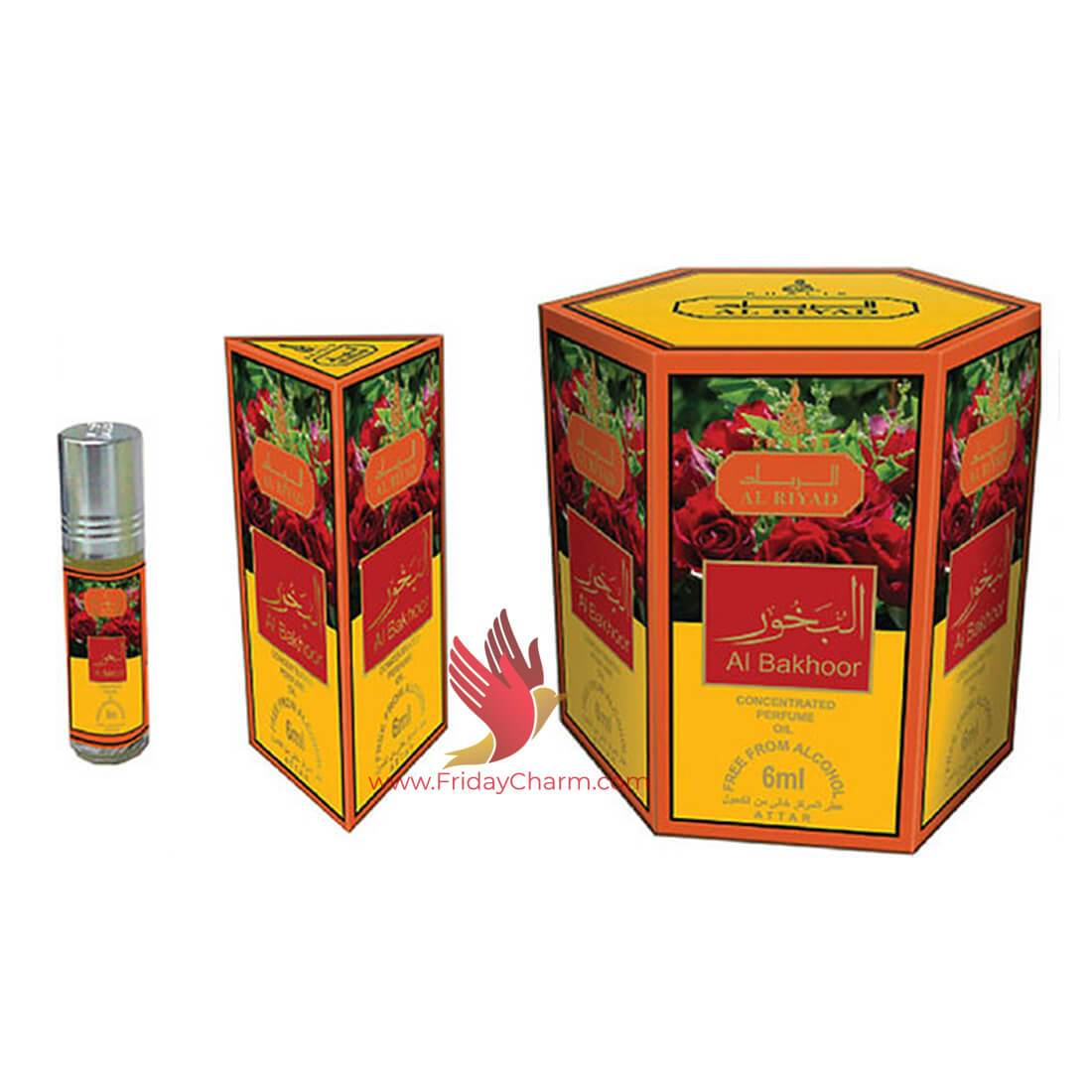 Khalis Al Bakhoor Fragrance Attar  6 ml Pack of 6