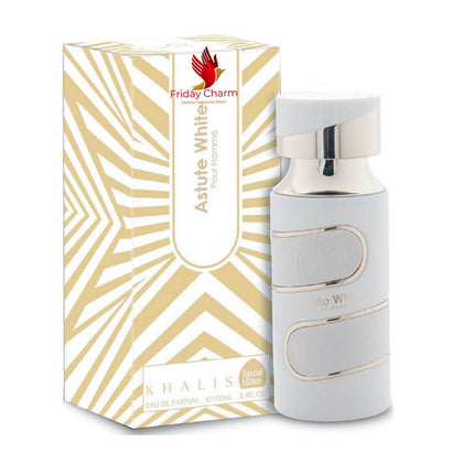 Khalis Perfumes Astute White Fragrance Spray - 100 ml