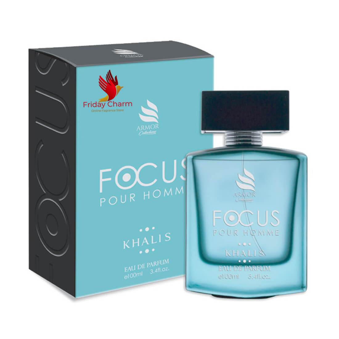 Khalis Focus Fragrance Spray - 100 ml