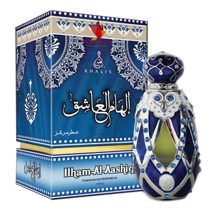 Khalis Ilham Ashiq Attar - 20ml