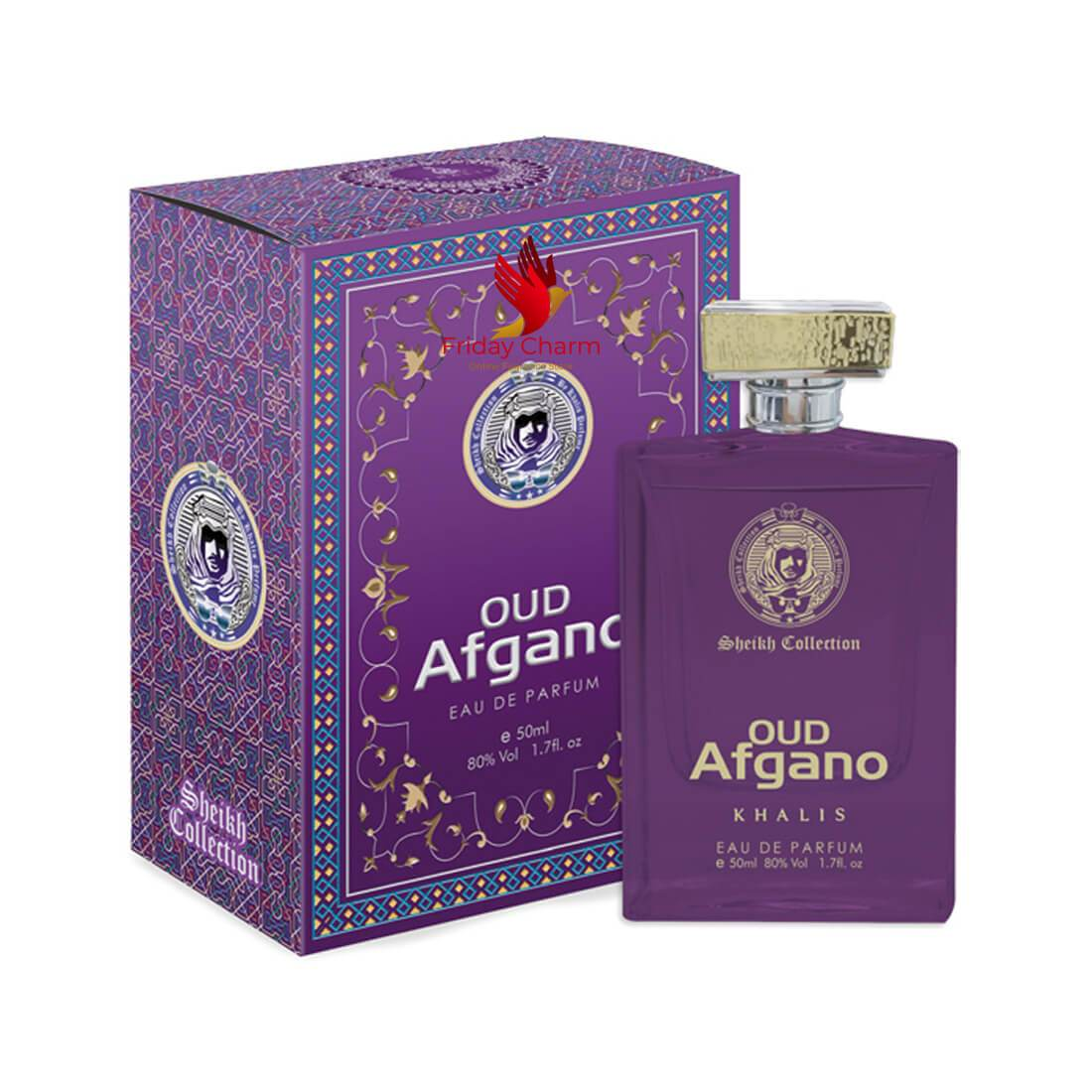 Khalis Oudh Afgano Fragrance Spray - 50 ml