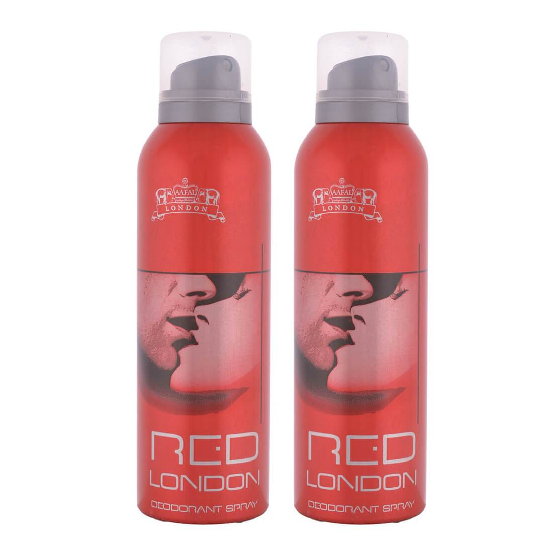 London Red Deodorant Body Spray Pack of 2 x 200ml