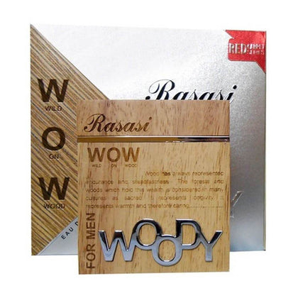 Rasasi WOW Woody For Men Eau De Perfume - 60ml