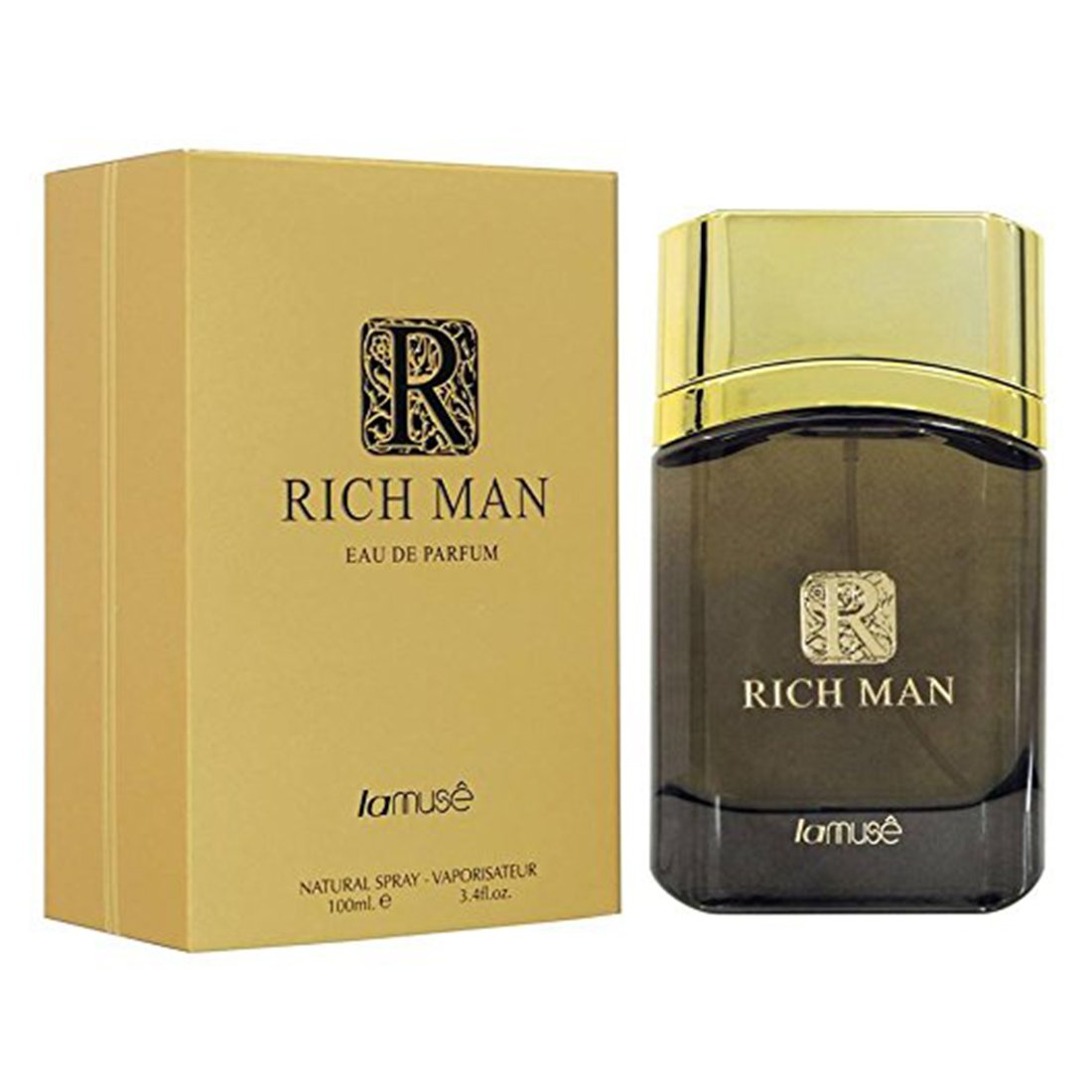 Lamuse Rich Man Perfume Spray - 100ml